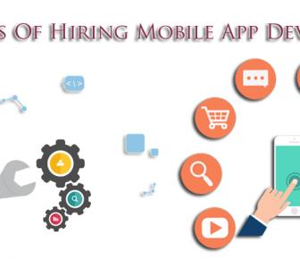 Benefits Of Hiring Mobile App Developers