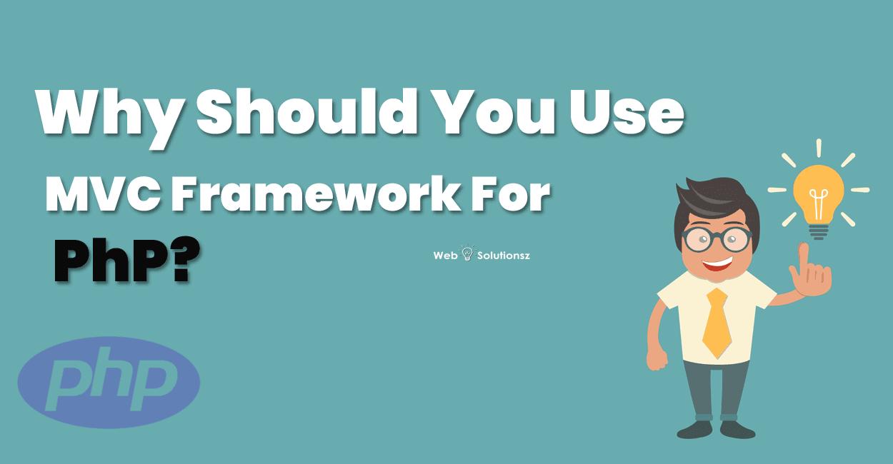 use MVC framework for PHP