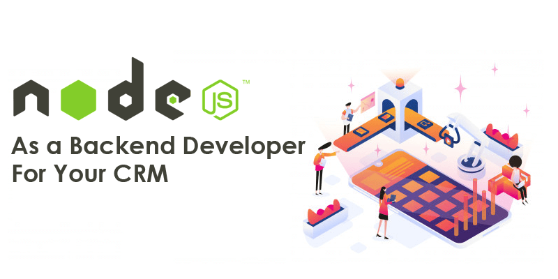 Nodejs as a Back end Developer