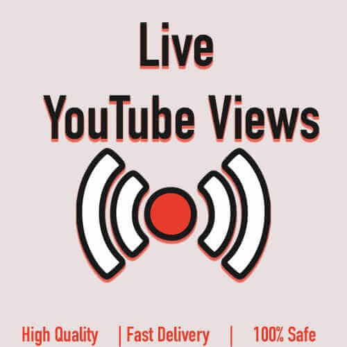 Live YouTube Views